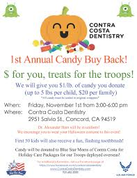 buy halloween candy announcements contra costa dentistry