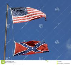 Us Confederate Flag American And Confederate Flags Stock Photo Image 6023464
