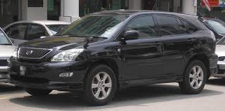 lexus rx used malaysia file toyota harrier second generation front serdang jpg