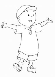 caillou printable coloring pages corpedo com