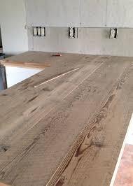 countertop wooden desk tops reclaimed wood countertops how to barn wood bar diy butcher block countertop reclaimed wood countertops