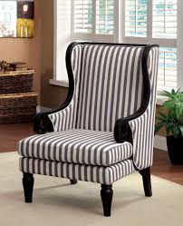 Blue And White Accent Chair Chairs Favorable High Back Accent Chairs For Stunning Barstools