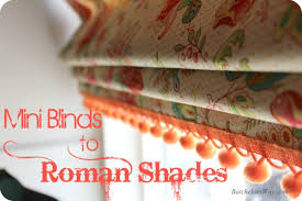 Paper Mini Blinds Batchelors Way Rustic Charm Bedroom Mini Blinds To Roman Shades