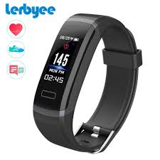 bracelet with heart rate images Lerbyee color screen smart bracelet gt101 waterproof 24 hours jpg