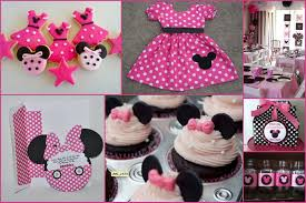 Diy 1st Birthday Centerpiece Ideas Minnie Mouse Diy Decorations For First Birthday Pinterest Image