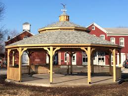 Round Gazebo Kits by Large Gazebos For Sale American Landscape Structures
