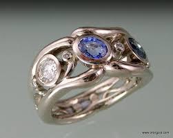 gemstone rings designs images Unique gem rings orbit jewellery jp muff design jpg