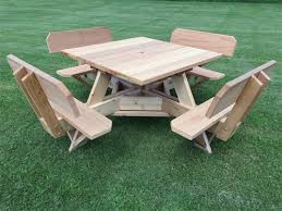 Patio Table With Umbrella Hole Awesome Square Picnic Table Small Patio Table With Umbrella Hole