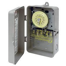 intermatic timer t103p 24 hour dial 120v 40 amp 2 poles timer