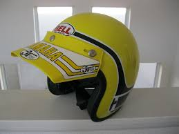 vintage motocross helmet vintage bell team yamaha replica helmet