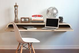 Computer Wall Desk Minimal Float Wall Desk Viesso