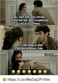 Why Are You Crying Meme - girl why are you crying valentine dayand chions leagueis coming