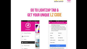 how to participate in lightzap the nationwide design contest