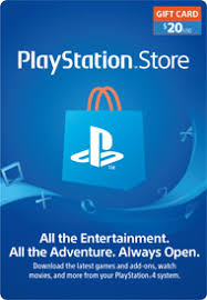 psn gift card playstation store 20 gift card digital for