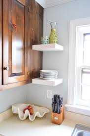 ikea kitchen corner cupboard shelf hanging ikea floating shelves in our kitchen house