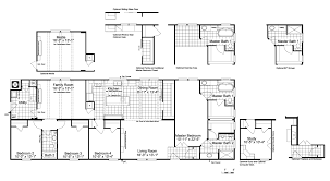 the lucky 7 model iii ml28764l manufactured home floor plan or