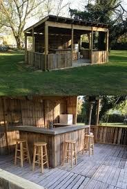 Garden Bar Ideas 87 Epic Pallet Bar Ideas To Embrace For Your Event Homesthetics
