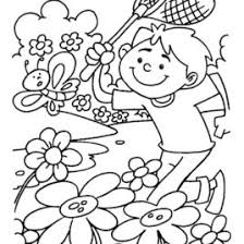spring coloring pages preschoolers cooloring spring coloring pages