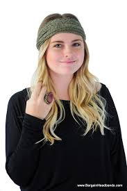 lace headwear wide olive boho headwrap headwear headband hairband thick