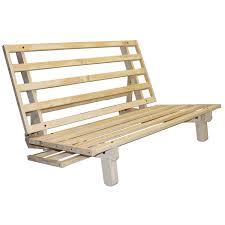 wood futon frame natuzzi recliner