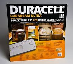 Wireless Led Under Cabinet Lighting Duracell Led Under Cabinet Light 2 Pack On Shopsavvy