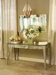 Sei Mirrored Vanity Mirrored Console Table Vanity Amazing Mirrored Console Table