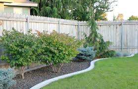 Ideas For Landscaping Backyard On A Budget Backyard Fence Ideas On A Budget Home Outdoor Decoration