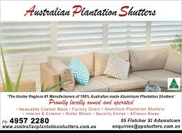 Australian Blinds And Shutters Australian Plantation Shutters U0026 Blinds In Adamstown Heights Nsw