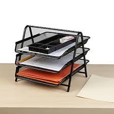 Paper Organizer For Desk Letter Desktop Trays Staples