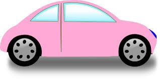 car clipart soft pink car clip at clker vector clip