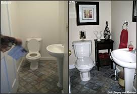 Yarmouth Blue Bathroom 5 Budget Bathroom Transformations By A Morris County Stager