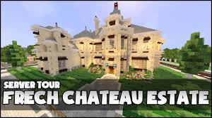minecraft french chateau estate youtube