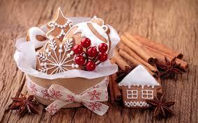pretty christmas cookies wallpaper 6806199