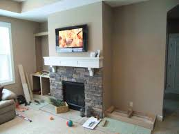 hammers and high heels feature project holly and brian s fireplace built ins
