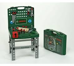 Childrens Work Benches Buy Bosch Toy Tool Shop Workbench With Accessories At Argos Co Uk