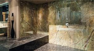 luxury marble bathroom cream wooden vanity shower with glass door