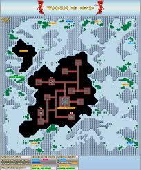 Final Fantasy 2 World Map by Phantasy Star 2 Maps