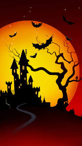 halloween neighborhood background wallpaper weekends halloween terrors for your iphone mactrast