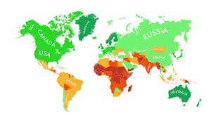 Country Map Usa by This Map Shows You The Best Places To Ride Out Climate Change Grist
