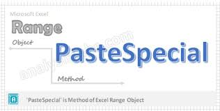 vba pastespecial method of range object explained with examples