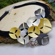 leather necklace design images Tricolor sand dollar design leather bracelet fine jewelry 4 me jpg