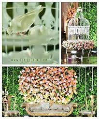 innovative wedding stage decoration ideas with bird cage