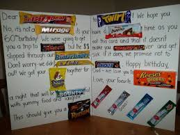 Birthday Card With Bars Birthday Card Some Awesome Candy Bar Birthday Card Candy Bar
