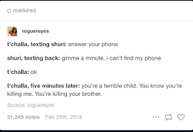 Tumblr Memes - 19 funniest things tumblr had to say about black panther smosh
