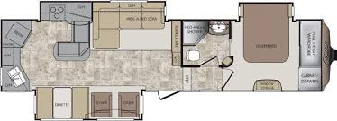 Cougar 5th Wheel Floor Plans 2012 Keystone Cougar 331 Mks Fifth Wheel Cincinnati Oh Colerain
