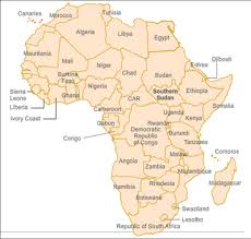 africa map with country names and capitals market snapshots botswana sub saharan africa south sudan icef