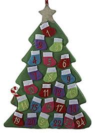 kurt adler 23 countdown tree advent calendar