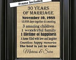 30th anniversary gifts for parents lovely parents 30th wedding anniversary gifts wedding gifts