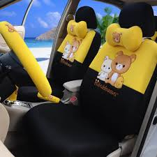 cartoon car back yellow and black car seat covers 101s14 car seat covers yellow and
