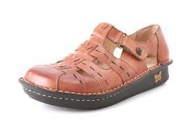 Comfort Sandals For Women Alegria Pesca Cognac Original Alegriashoeshop Com